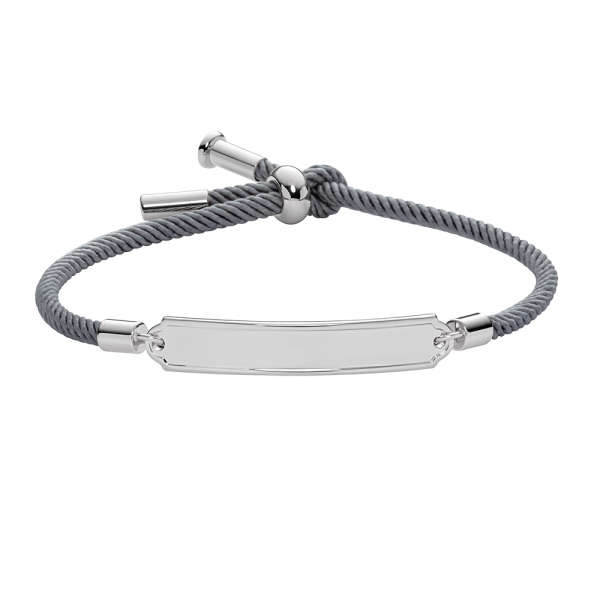 Bracciale Vitamin Sea Argentato Grey