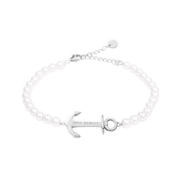 Bracelet Anchor Spirit Argenté Pearl