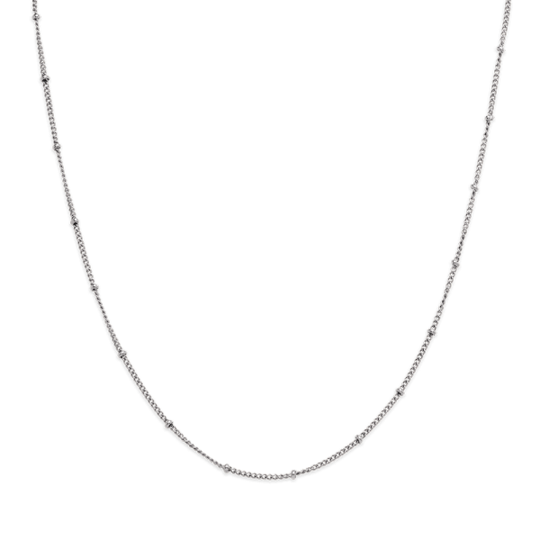 Halskette Horizon Ball Chain Silber