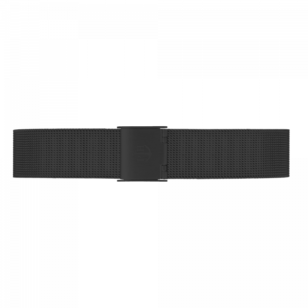 Watch Strap Mesh Black 16 mm