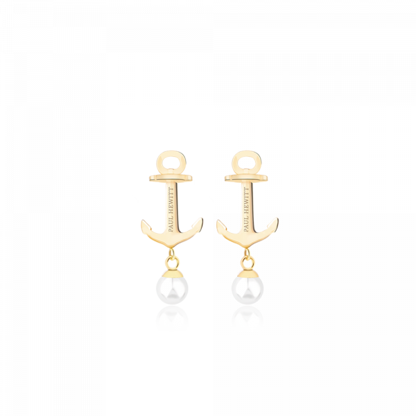 Ohrstecker Anchor Pearl Gold Pearl