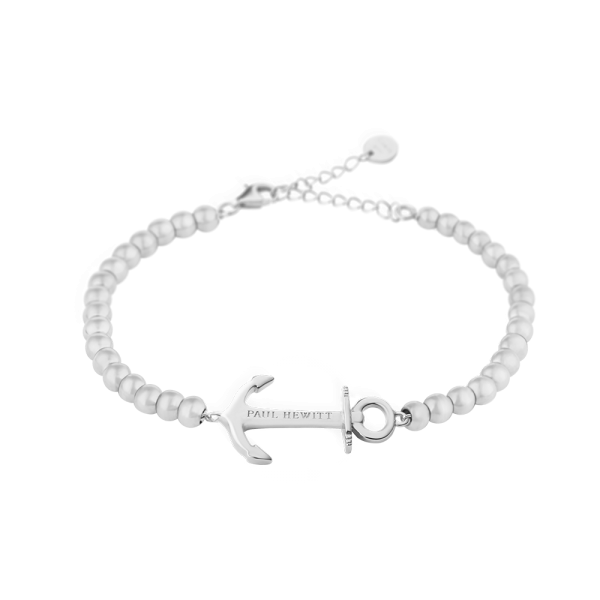 Pulsera Anchor Spirit Plateado Steel