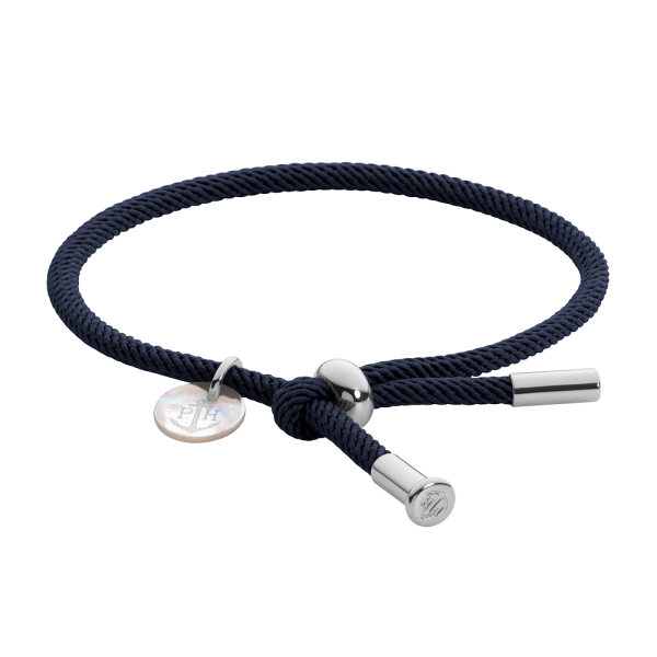 Armband Vitamin Sea Silber Navy