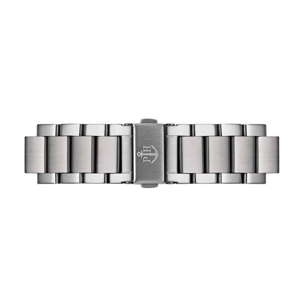 Bracelet de Montre Métallique Silver Metal 20 mm