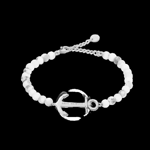 Bracciale Anchor Spirit Argentato Marble
