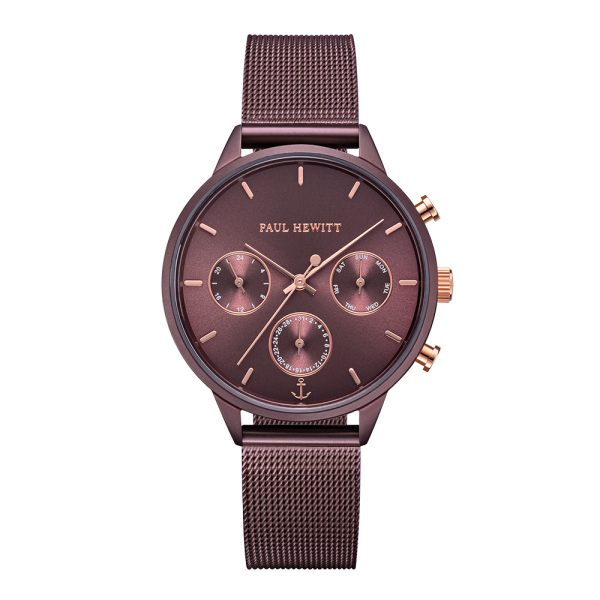 Watch Everpulse Dark Mauve Mesh