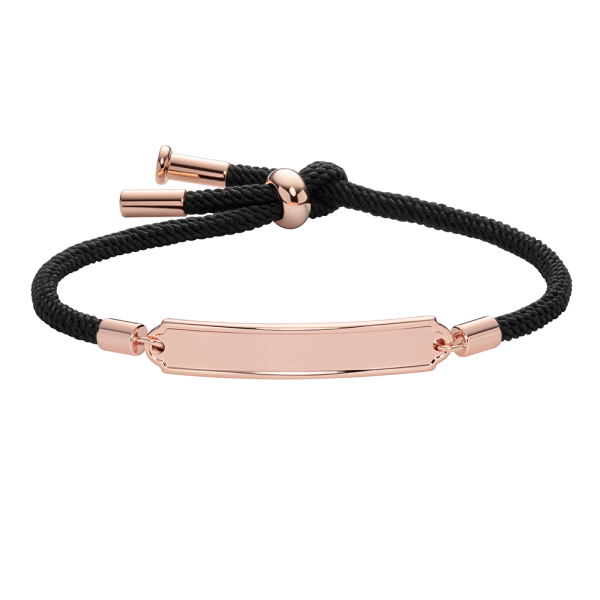 Armband Vitamin Sea Roségold Black