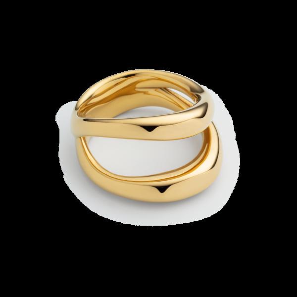 Ring Horizon Waves Gold