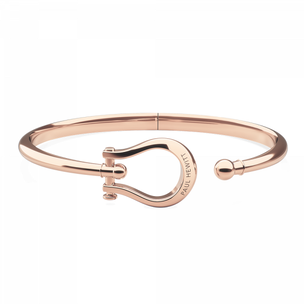 Bracelet Jonc Shackle Or Rose