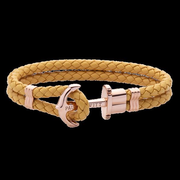 Bracelet Ancre Phrep Or Rose Canary