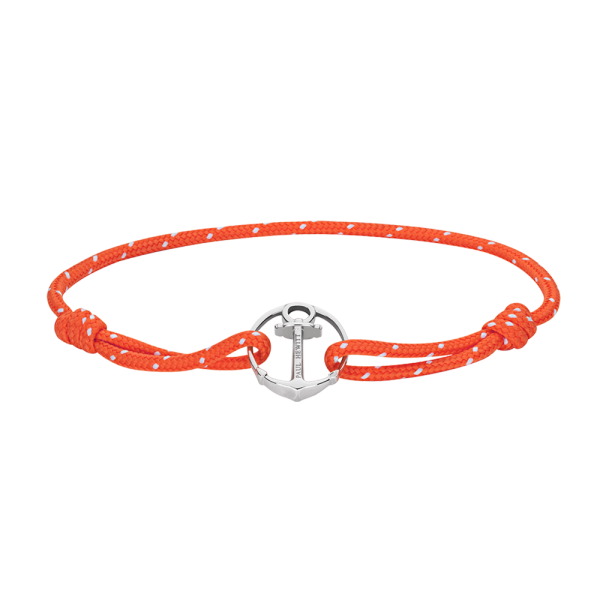 Armband Re/Brace Silber Orange