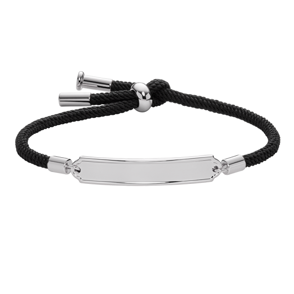 Pulsera Vitamin Sea Plateado Black
