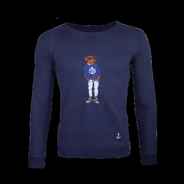Pullover Sweater PAULY Blu Marino