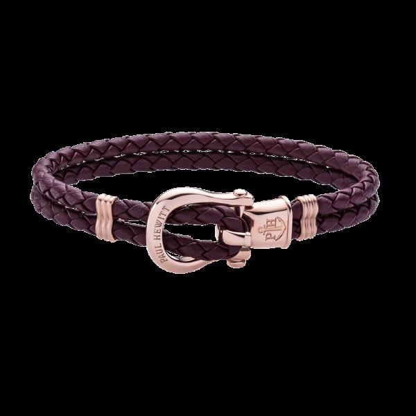 Bracelet Phinity Rose Gold Dark Mauve