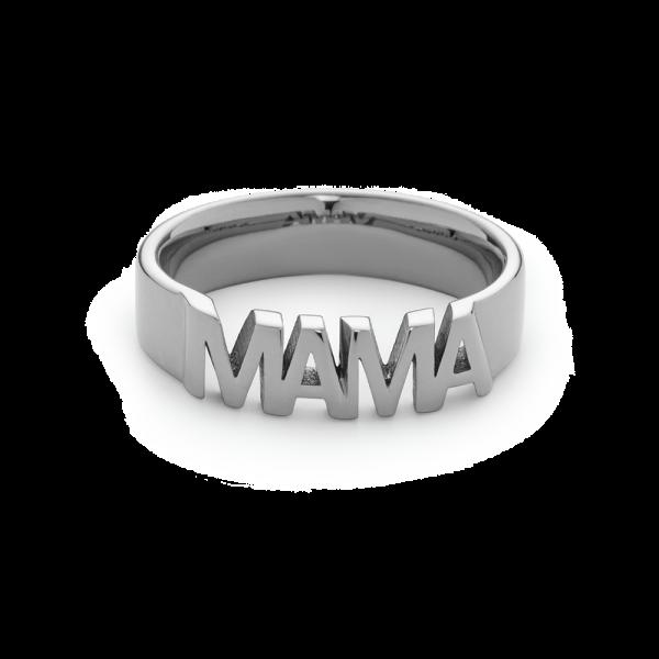 Ring Mama Silber