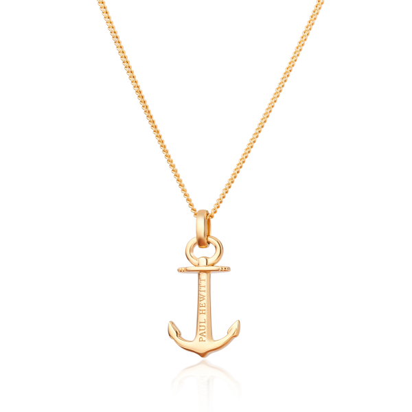 Collier Anchor Spirit Or