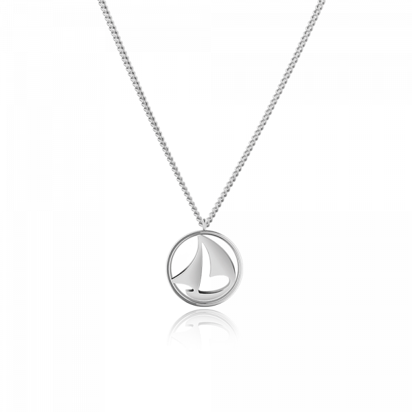 Collier Sail Away Argenté