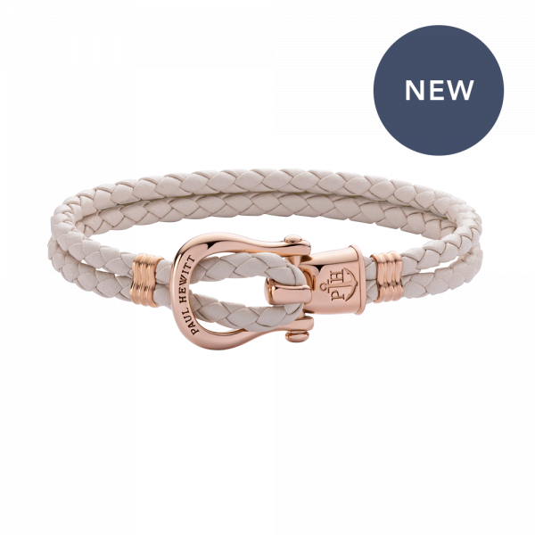 Bracelet Phinity Rose Gold Leather Cherry Blossom