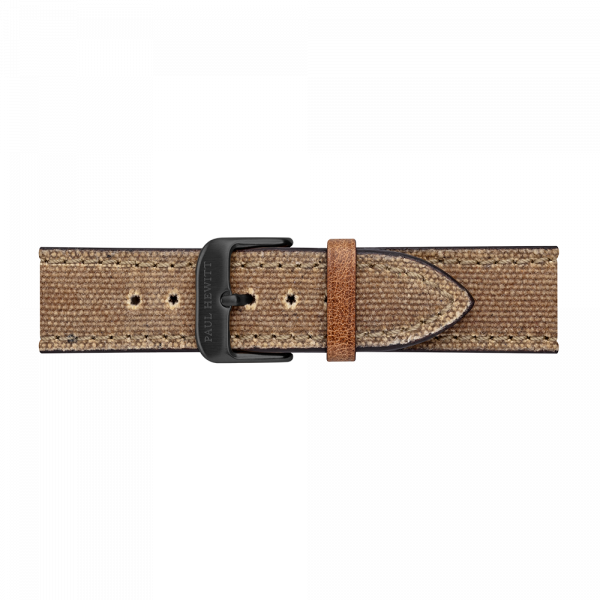 Watch Strap Canvas Black Desert 20 mm