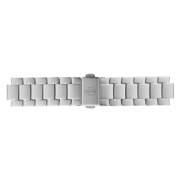 Watch Strap Metal Silver 16 mm