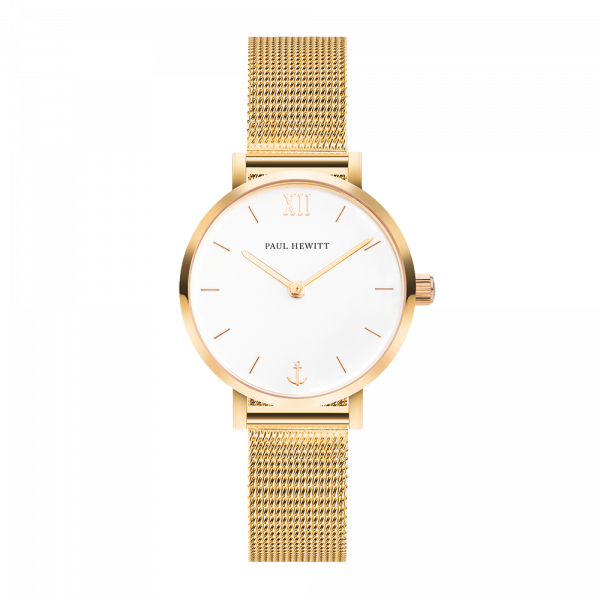 Montre Modest White Sand Or Mesh