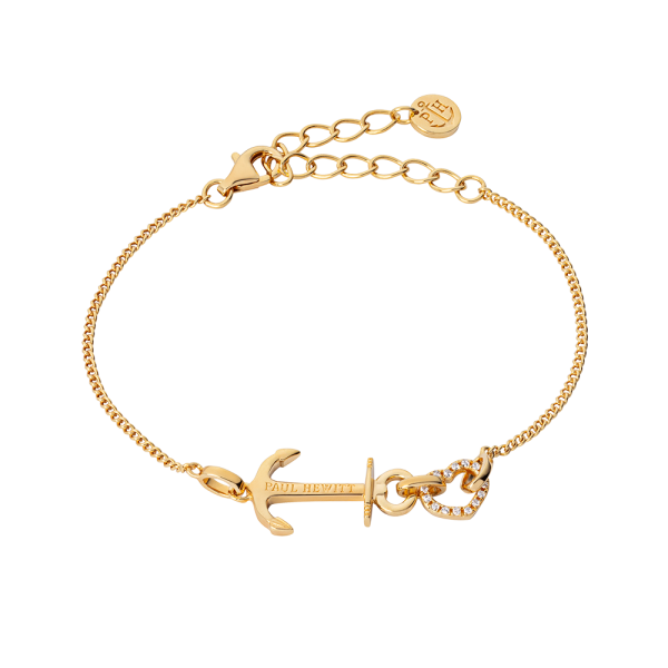 Bracelet Anchor Love Gold