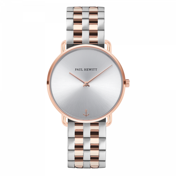 Watch Miss Ocean Silver Sunray Rose Gold Metal Bicolor Rose Gold Silver