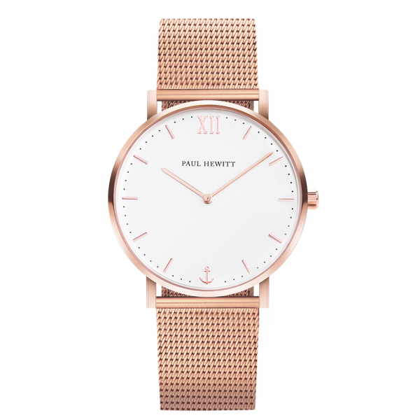 Montre Sailor White Sand Or Rose Mesh