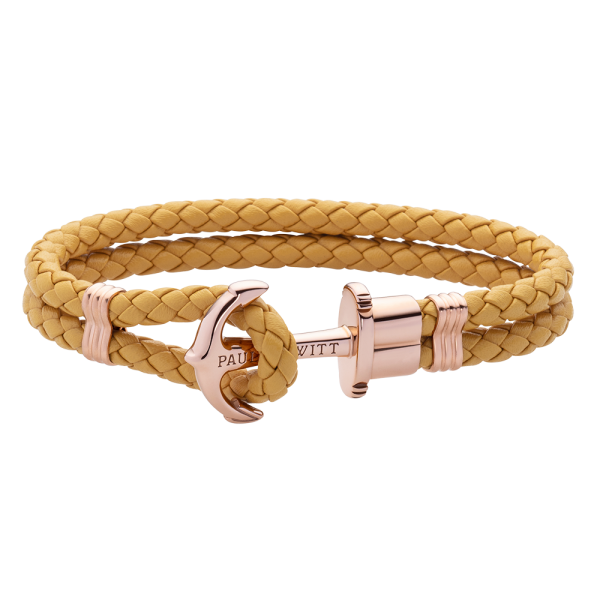 Anchor Bracelet Phrep Rose Gold Canary