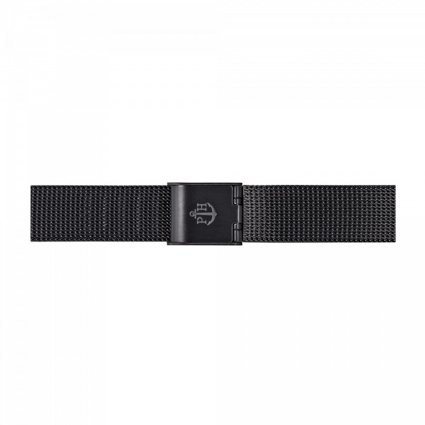 Watch Strap Mesh Black 12 mm