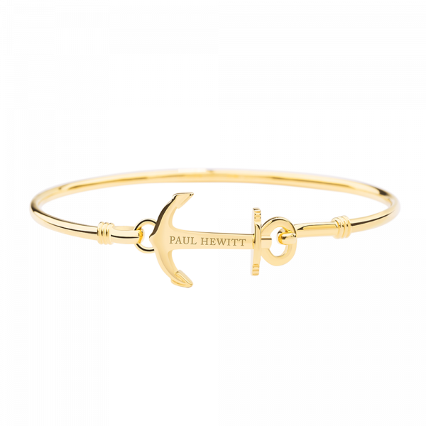 Bracelet Jonc Anchor Cuff Or
