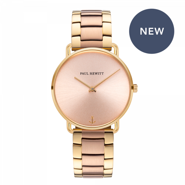 Watch Miss Ocean Rose Sunray Gold Metal Bicolor Rose Gold Gold