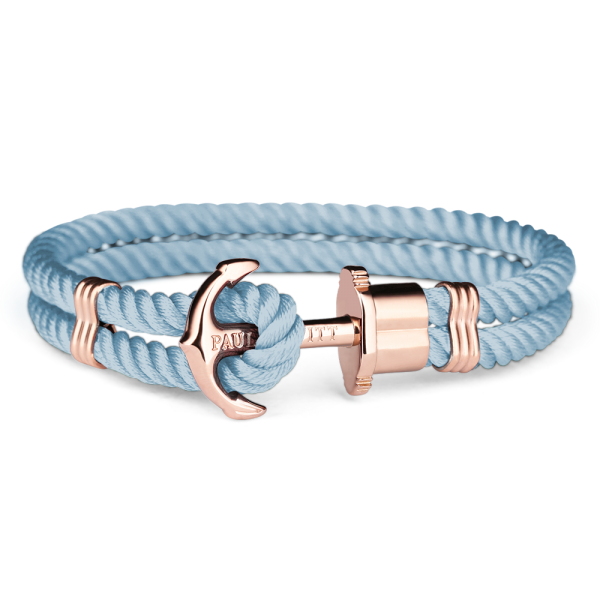 Anchor Bracelet Phrep Rose Gold Nylon Niagara