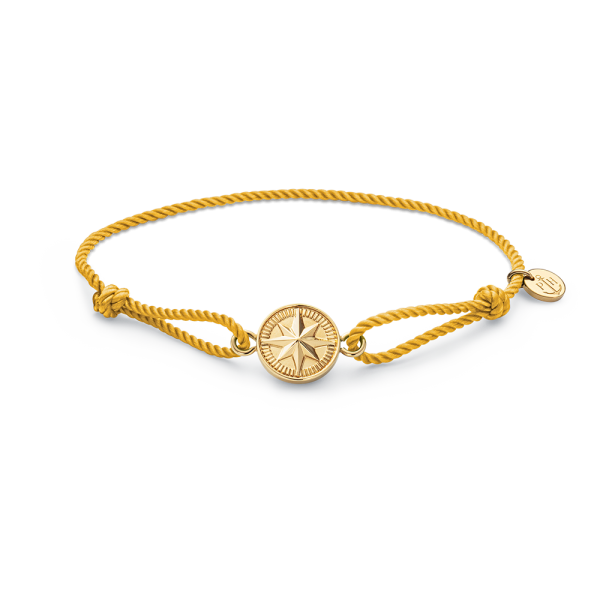 Armband Windrose Gold Sun Yellow