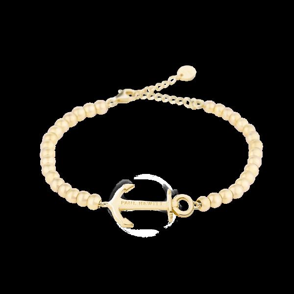 Bracelet Anchor Spirit Or Steel