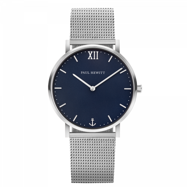 Watch Sailor Blue Lagoon Silver Mesh