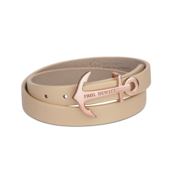Wickelarmband North Bound Roségold Hazelnut