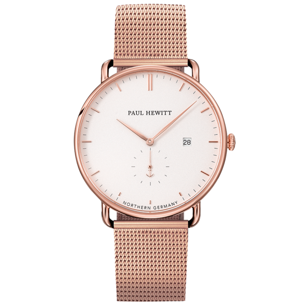 Watch Grand Atlantic White Sand Rose Gold Mesh