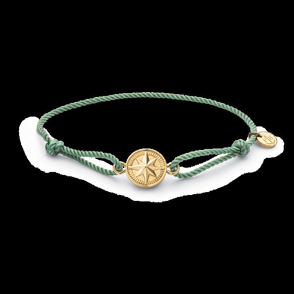 Bracelet Windrose Gold Teal