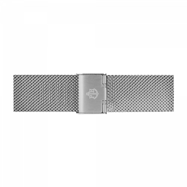 Watch Strap Mesh Silver 20 mm