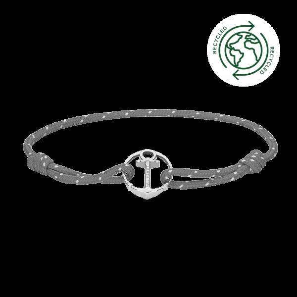 Bracelet Re/Brace Silver Grey