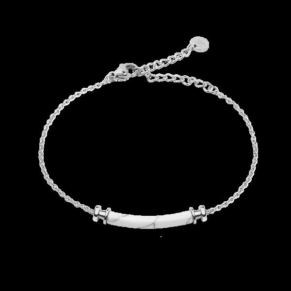 Armkette Starboard Silber Marble