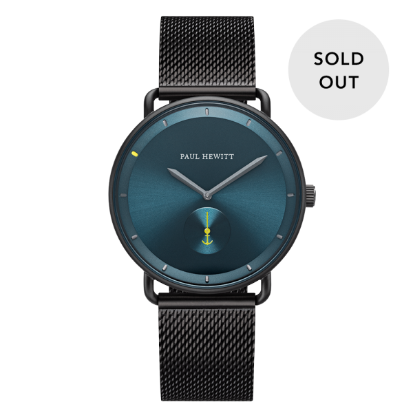 Watch Breakwater Petrol Sunray Black Mesh