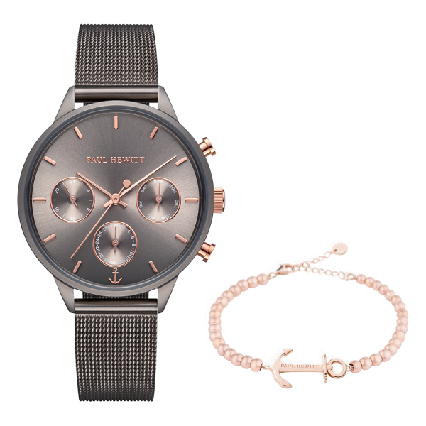 Set Perfect Match Everpulse Grey Metallic et Anchor Spirit Or Rose Steel