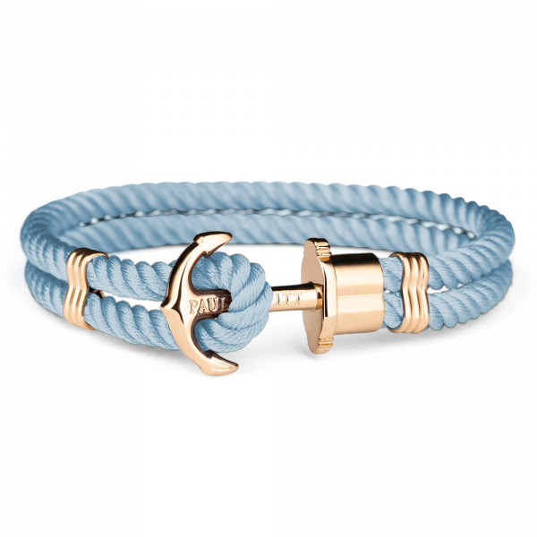 Anchor Bracelet Phrep Gold Nylon Niagara