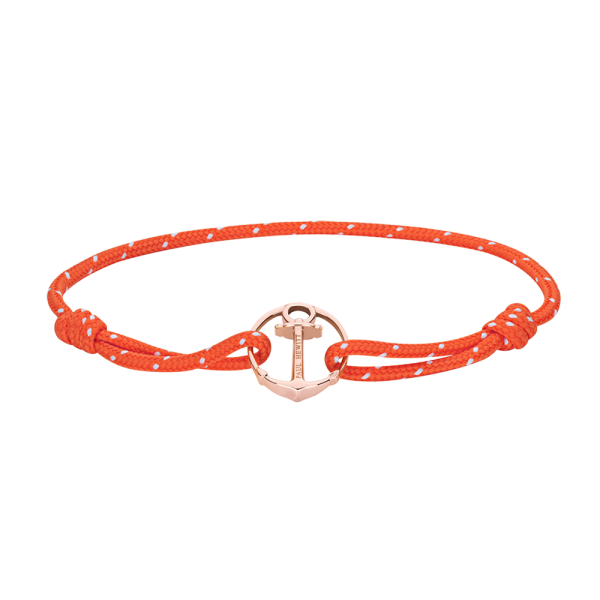 Armband Re/Brace Roségold Orange