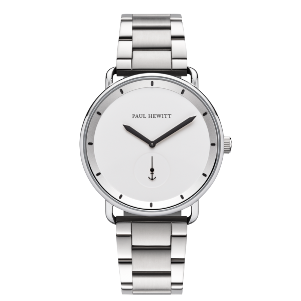 Watch Breakwater White Sand Silver Metal