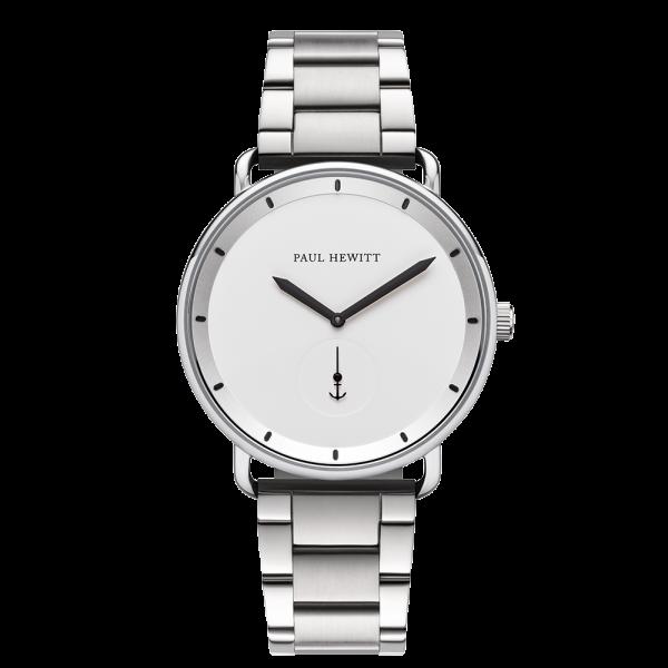 Uhr Breakwater White Sand Silber Metall