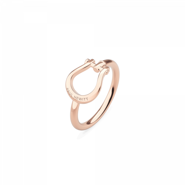 Anello Shackle Oro Rosa