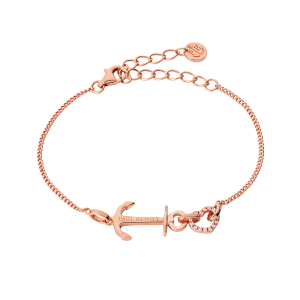 Bracelet Anchor Love Rose Gold